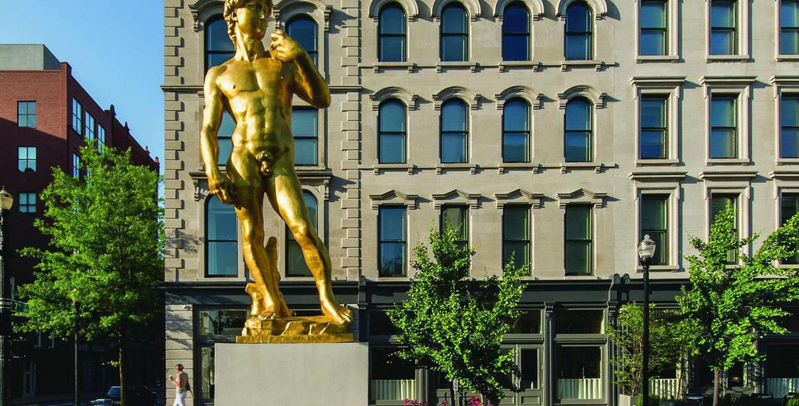 Image of hotel exterior 21c Museum Hotel Louisville by MGallery, 1800, Member of Historic Hotels of America, in Louisville, Kentucky, Discover