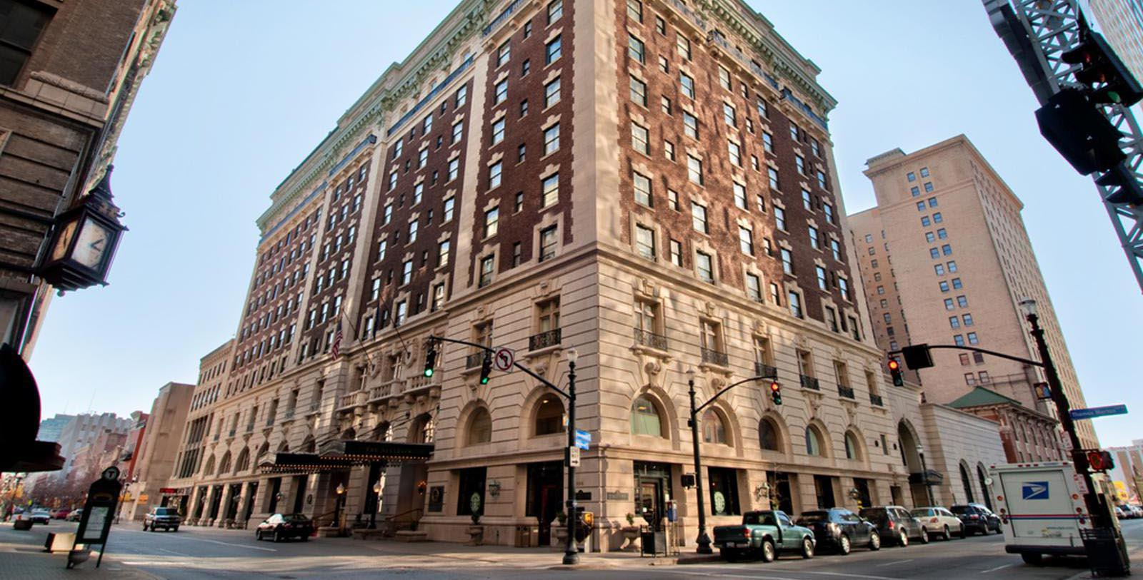 Image of Hotel Exterior The Seelbach Hilton Louisville, 1905, Member of Historic Hotels of America, in Louisville, Kentucky, Overview