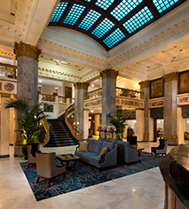 Activities:      The Seelbach Hilton Louisville  in Louisville