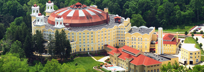 West Baden Springs Hotel  in West Baden Springs