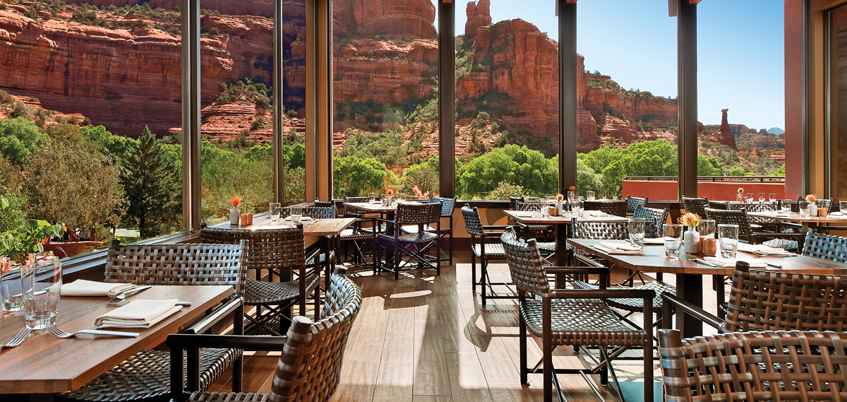 Dining:      Enchantment Resort  in Sedona