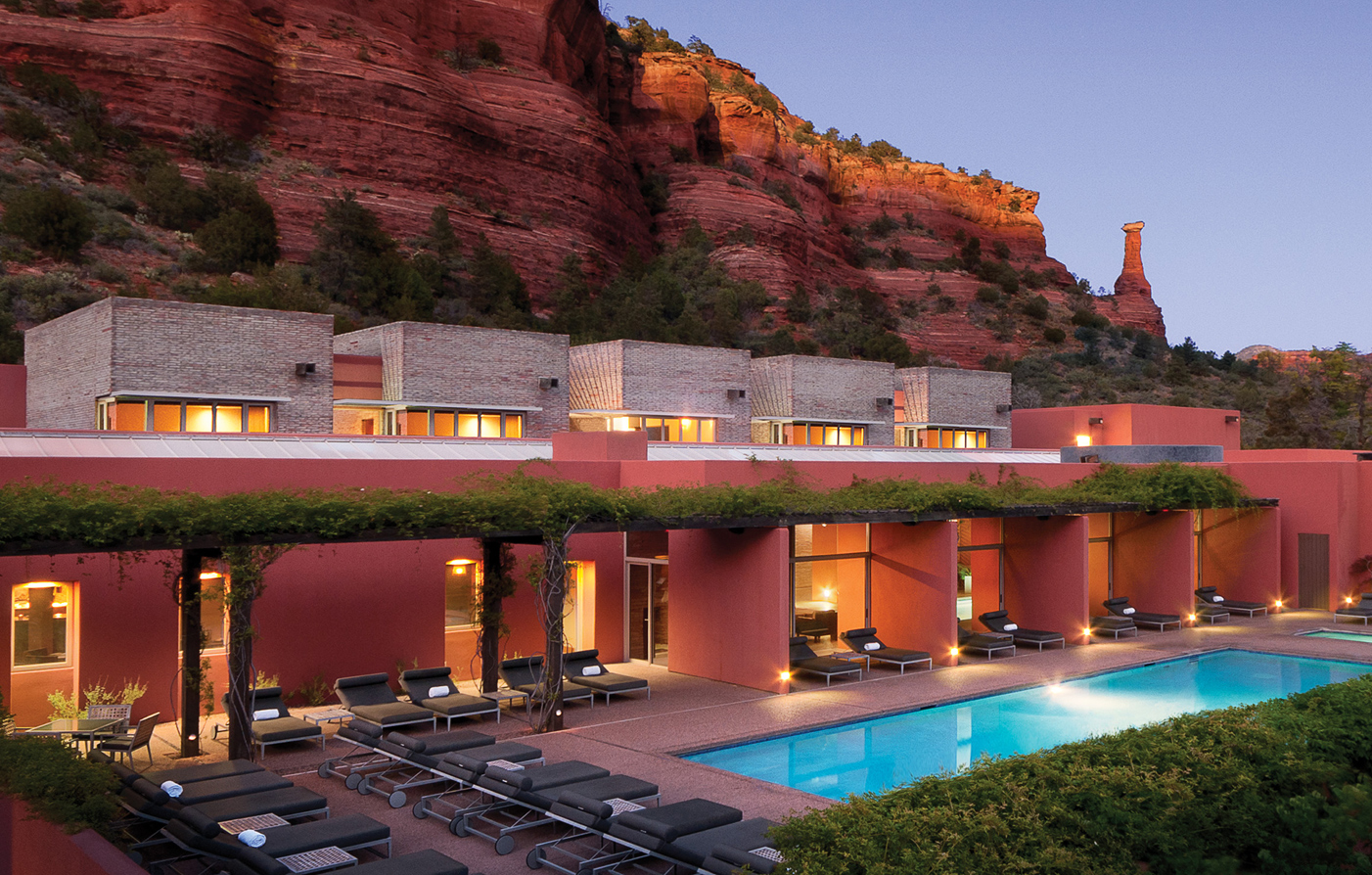 Luxury boutique hotels in sedona mii amo spa hotels in for Motel luxury