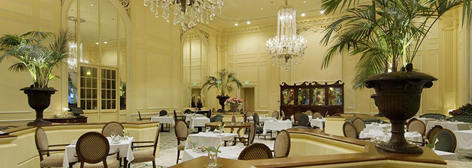 Dining at      Fairmont Olympic Hotel  in Seattle