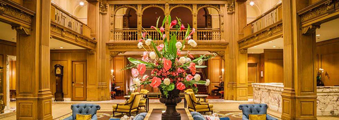 History:      Fairmont Olympic Hotel  in Seattle