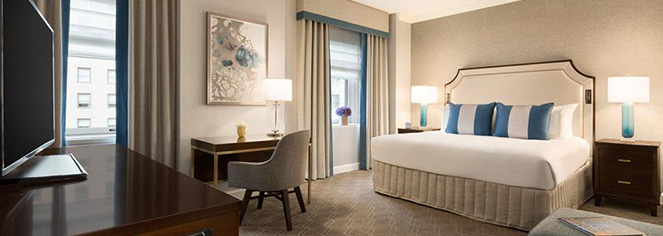 Accommodations:      Fairmont Olympic Hotel  in Seattle