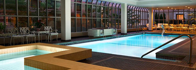 Spa:      Fairmont Olympic Hotel  in Seattle