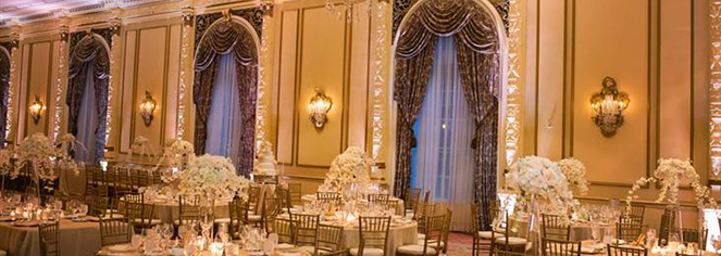 Weddings:      Fairmont Olympic Hotel  in Seattle