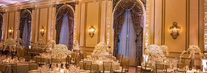 Weddings:      Fairmont Olympic Hotel  in Seattle