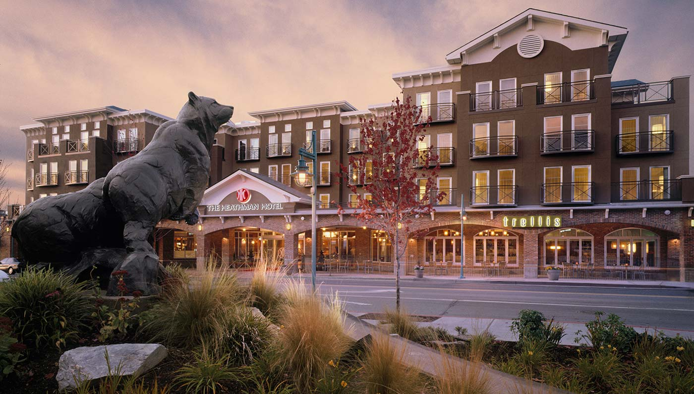 Accommodations:      The Heathman Hotel Kirkland  in Seattle/Kirkland