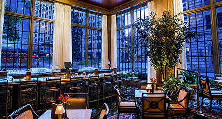 Dining at      Mayflower Park Hotel  in Seattle
