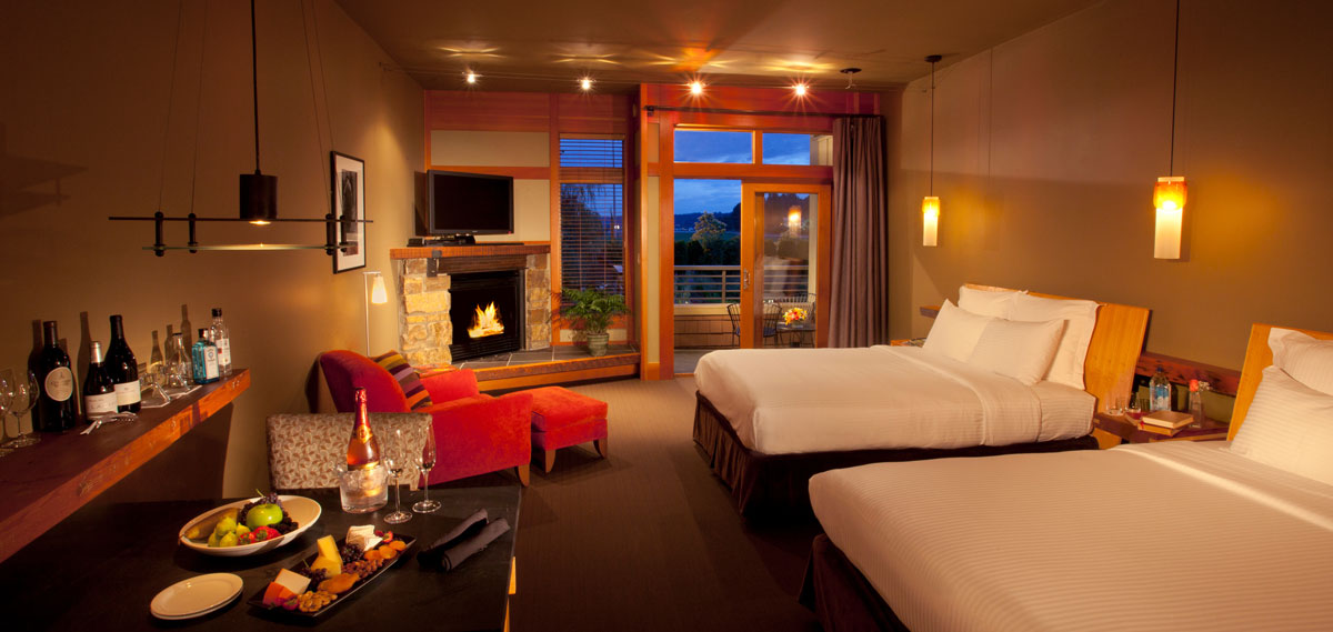 Accommodations:      Willows Lodge  in Seattle/Woodinville