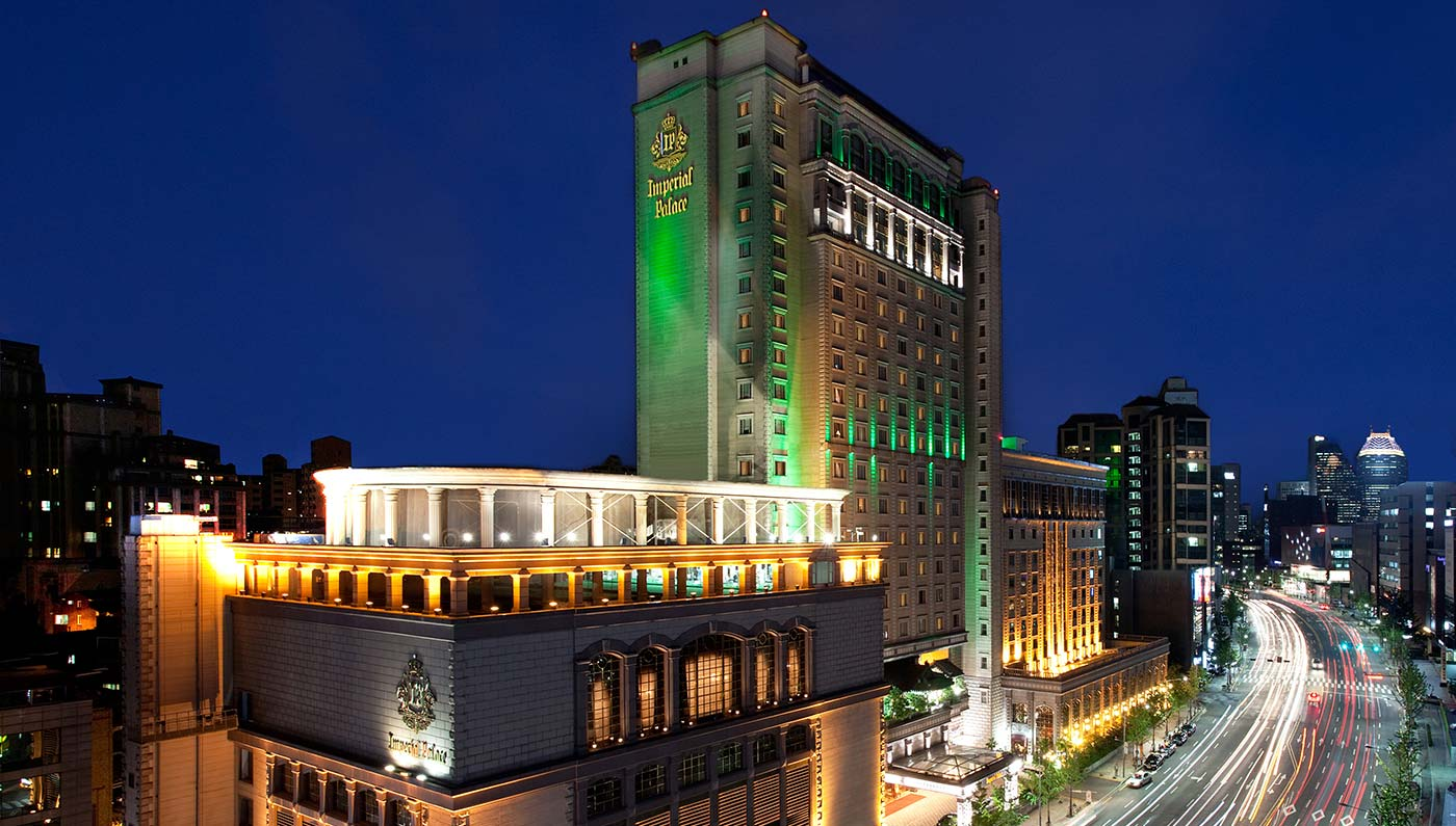 Luxury South Korea Hotel   Imperial Palace Seoul