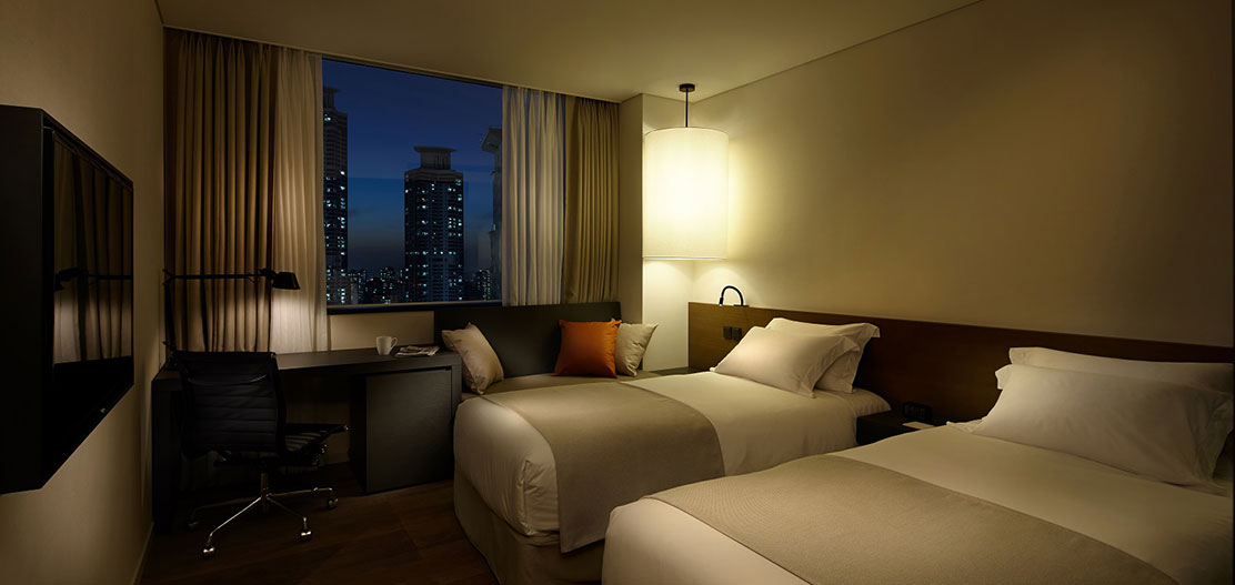 Accommodations:      Shilla Stay Seodaemun  in Seoul