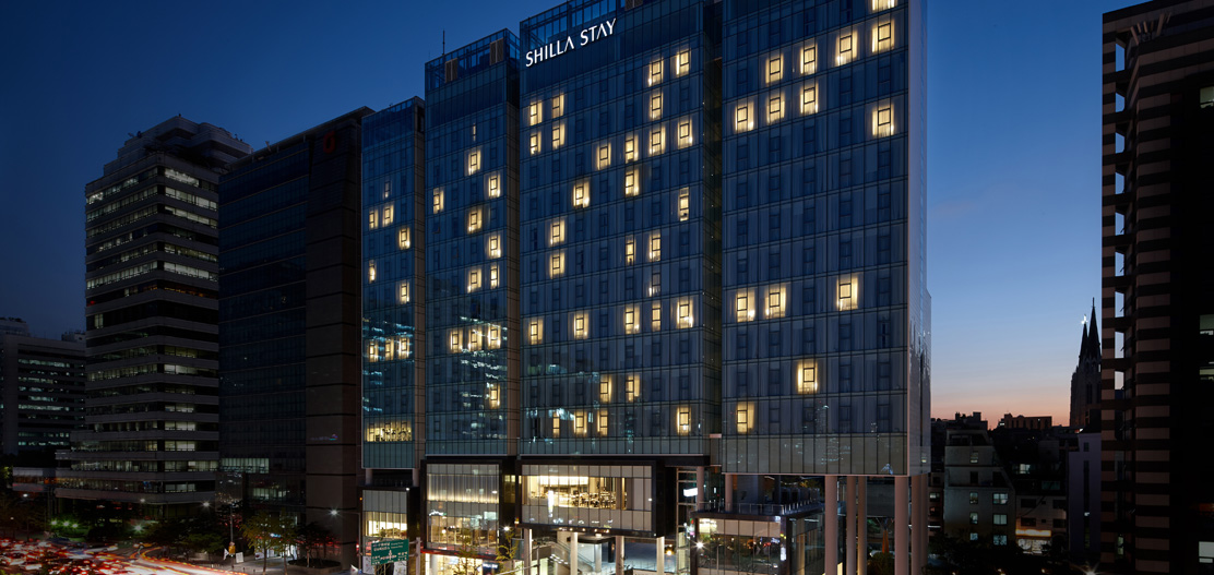 Accommodations:      Shilla Stay Yeoksam  in Seoul