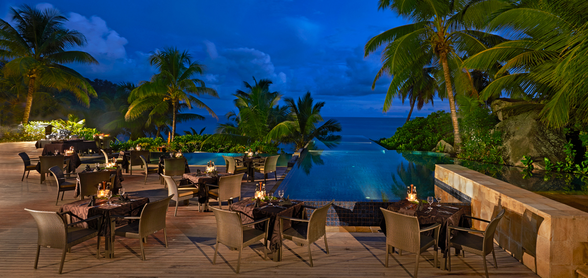 Dining:      Banyan Tree Seychelles  in Victoria, Mahé