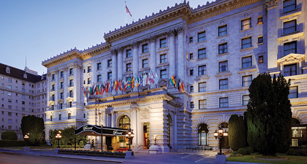 The Fairmont Hotel San Francisco Ca Historic Hotels Of