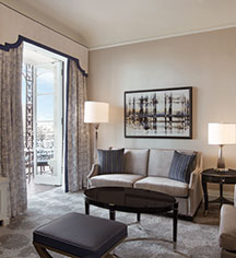 Accommodations:      The Fairmont Hotel San Francisco  in San Francisco