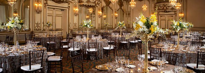 Weddings:      The Fairmont Hotel San Francisco  in San Francisco