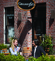 Dining at      Fairmont Heritage Place, Ghirardelli Square  in San Francisco