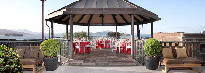 Weddings:      Fairmont Heritage Place, Ghirardelli Square  in San Francisco