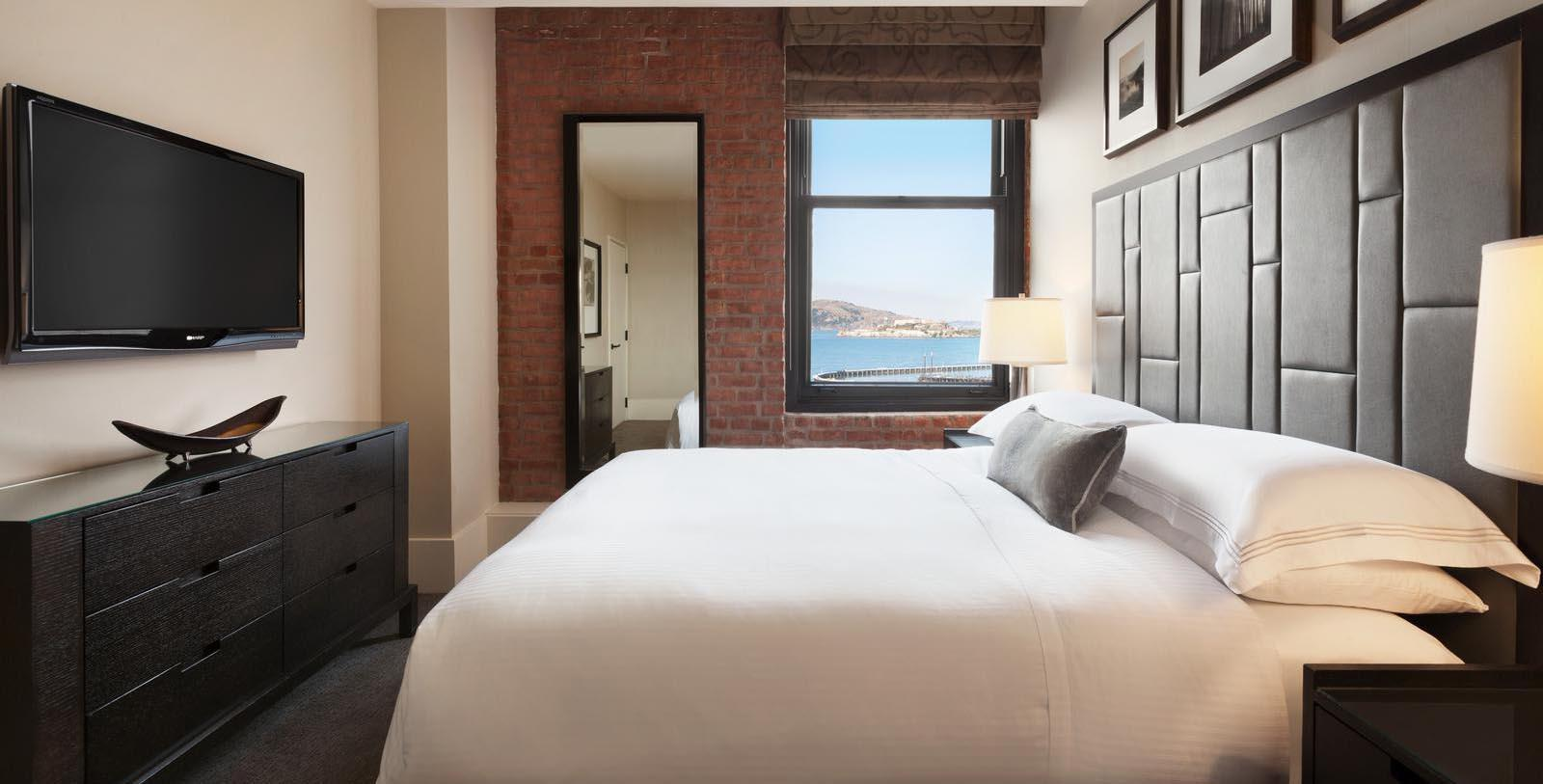 Image of Guestroom at Fairmont Heritage Place, Ghirardelli Square, 1893, Member of Historic Hotels of America, in San Francisco, California, Accommodations