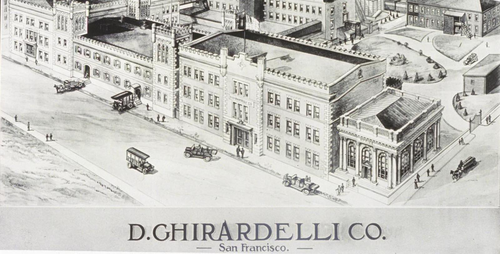 Historic image of hotel exterior at Fairmont Heritage Place, Ghirardelli Square, 1893, Member of Historic Hotels of America, in San Francisco, California, Discover