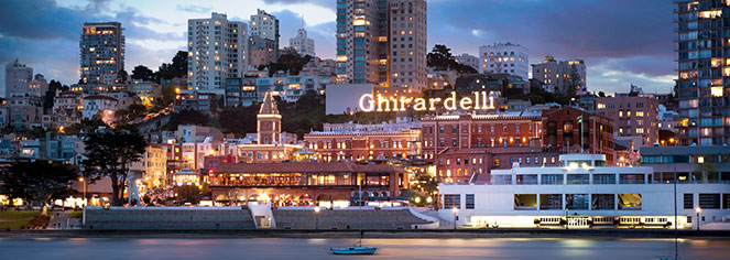 Event Calendar:      Fairmont Heritage Place, Ghirardelli Square  in San Francisco