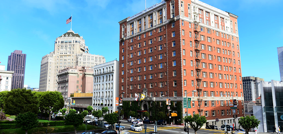 The Huntington Hotel  in San Francisco
