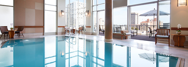 Spa:      The Huntington Hotel  in San Francisco