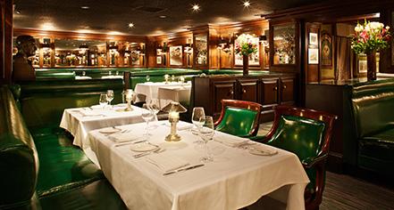 Dining at      The Scarlet Huntington  in San Francisco