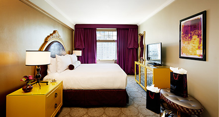 Accommodations:      The Scarlet Huntington San Francisco  in San Francisco