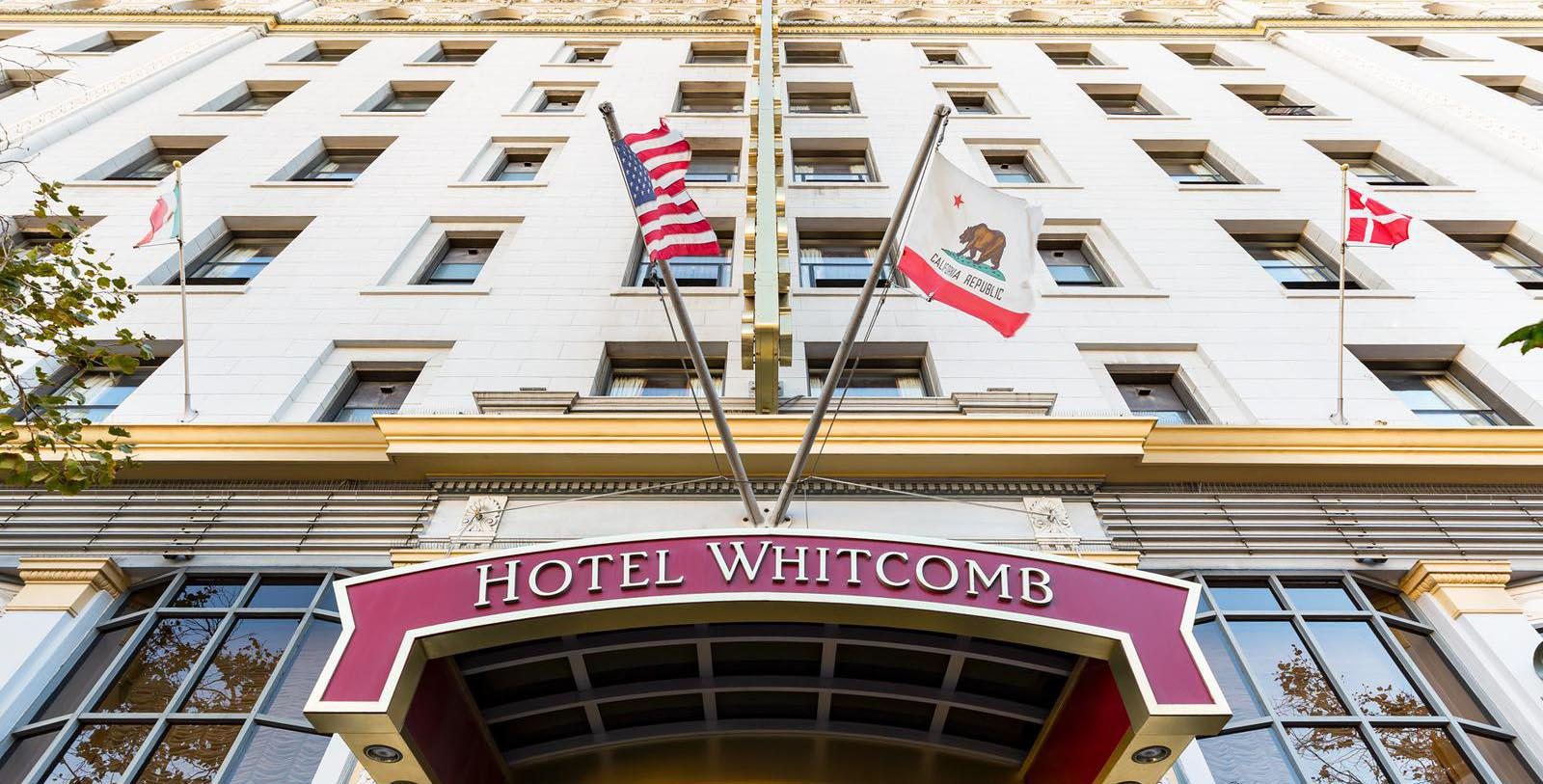 Image of Hotel Exterior, Hotel Whitcomb in San Francisco, California, 1916, Member of Historic Hotels of America, Overview
