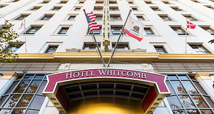 Event Calendar:      Hotel Whitcomb  in San Francisco