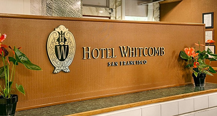 Activities:      Hotel Whitcomb  in San Francisco