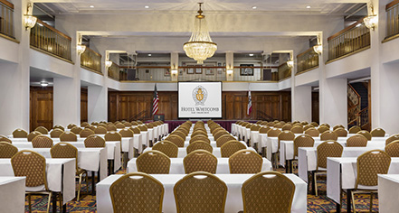Meetings at      Hotel Whitcomb  in San Francisco