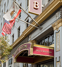Events at      Hotel Whitcomb  in San Francisco