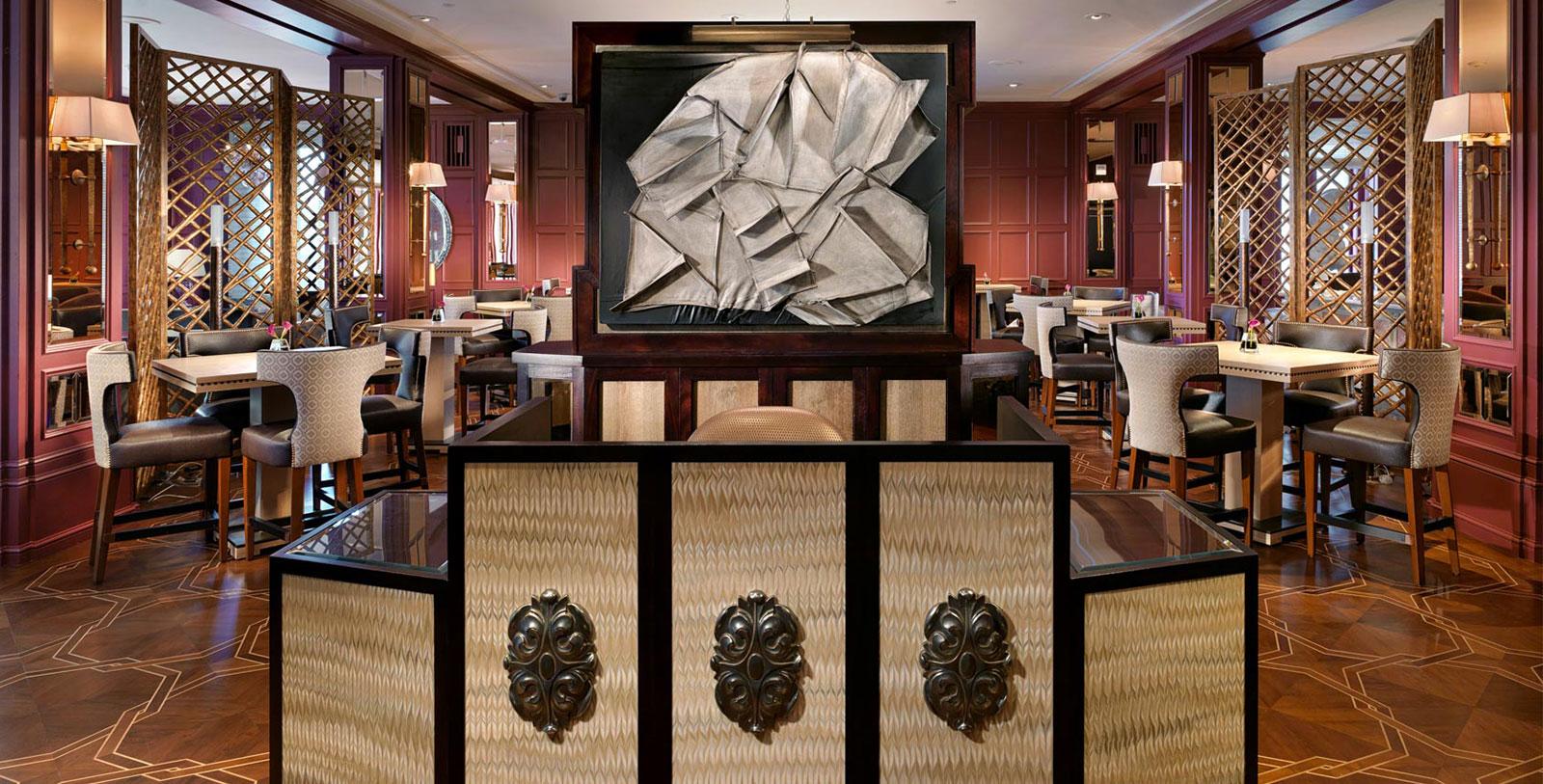 Image of Nob Hill Club, InterContinental Mark Hopkins Hotel in San Francisco, California, 1926, Member of Historic Hotels of America, Dining