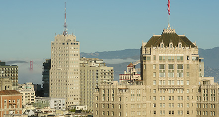 Local Attractions:      InterContinental Mark Hopkins Hotel  in San Francisco