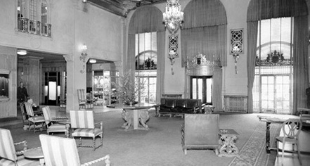 History:      InterContinental Mark Hopkins Hotel  in San Francisco