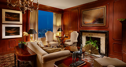 Accommodations:      InterContinental Mark Hopkins Hotel  in San Francisco