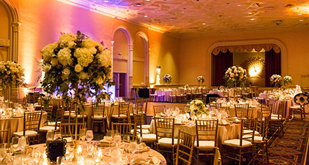 Weddings:      InterContinental Mark Hopkins Hotel  in San Francisco
