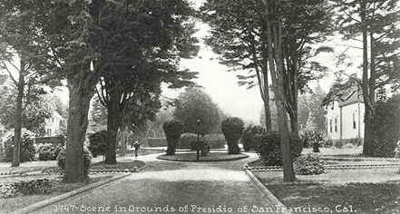 History:      Inn at the Presidio  in San Francisco