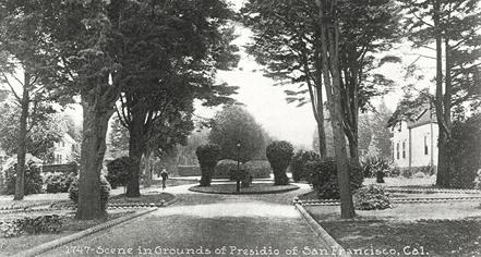 History:      Inn at the Presidio  in San Francisco