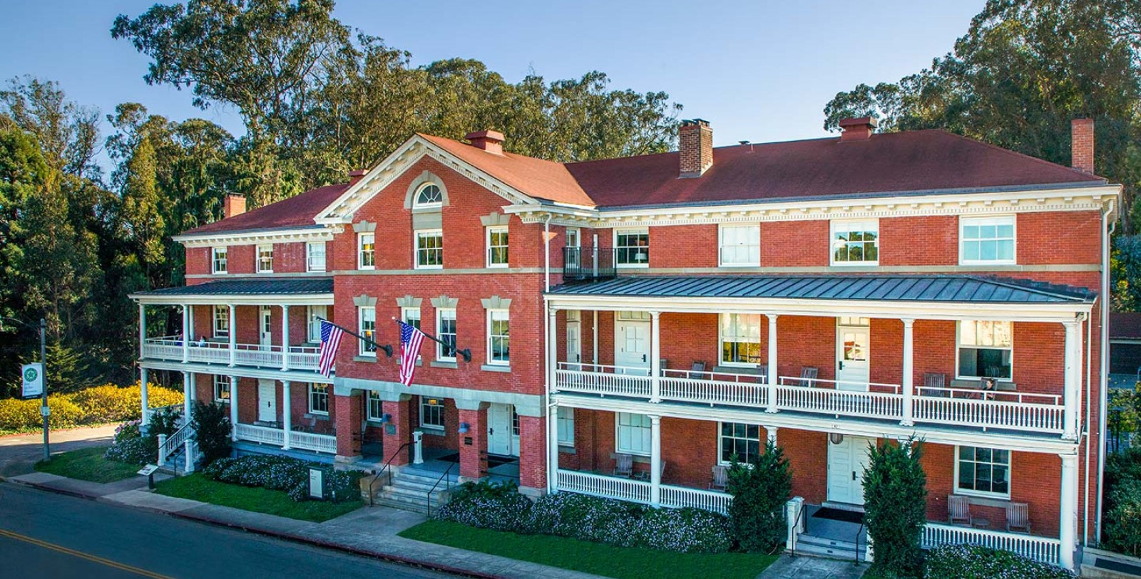 Image of Hotel Exterior, Inn at the Presidio in San Francisco, California, 1903, Member of Historic Hotels of America