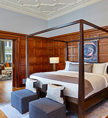 Accommodations:      Palace Hotel  in San Francisco