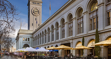 Local Attractions:      Palace Hotel  in San Francisco