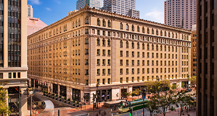 Palace Hotel  in San Francisco