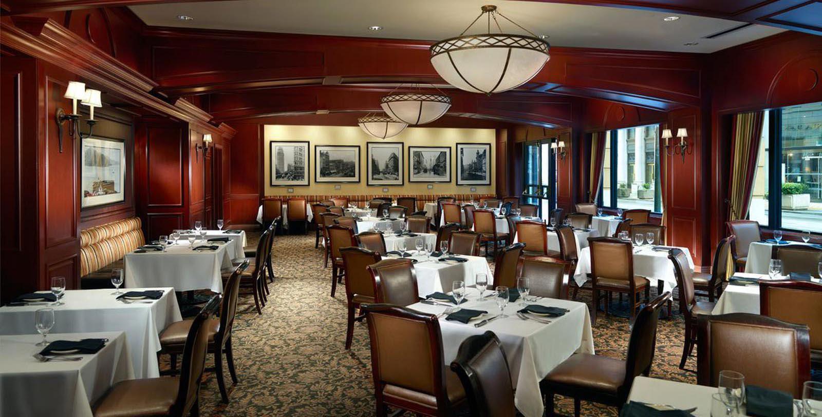 Image of Bob's Steak & Chop House, Omni San Francisco Hotel, California, 1926, Member of Historic Hotels of America, Taste