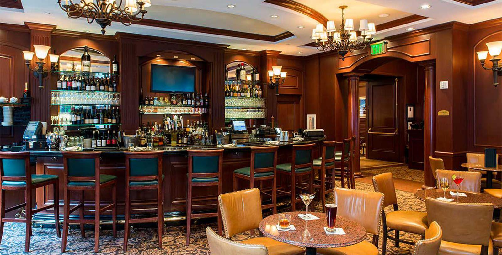 Image of Bob's Bar, Omni San Francisco Hotel, California, 1926, Member of Historic Hotels of America, Discover