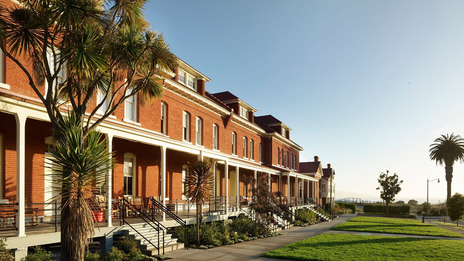 Image of Hotel Exterior The Lodge at the Presidio, 1894, Member of Historic Hotels of America, in San Francisco, California, Overview
